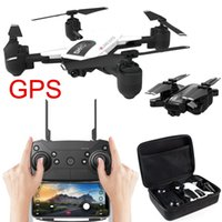 WIFI 720 FPV 18 min Mini drone High Hold Mode pieghevole RC Quadcopter Flight Time GPS Flow Me Selfie Drone RC Quadcopter