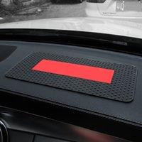 لوازم السيارات عصرية * العلامة التجارية سيليكون عدم الانزلاق حصيرة سيارة عملية درجة الحرارة عالية المقاومة للماء التخزين الوسادة عدم الانزلاق