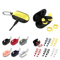 Siliconen beschermhoes Cover Sleeve Ear Bud Tips voor Samsung Galaxy Buds Sport Oortelefoon Bluetooth Headset Cases Shockproof Protection Tas
