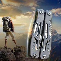 Outdoor-Camping-Überlebens-Werkzeug Multi-Werkzeug Zangen Versatile Reparatur Folding Schraubendreher Edelstahl EDC-Gang Jagd Wandern