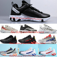New Leather surface React Element 87 55 Undercover Men Runni...