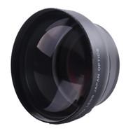 Lente Teleobjetivo Profesional de 58mm 2.2X para Canon Nikon Sony Pentax Fuji 18-55mm Lente de la cámara DSLR