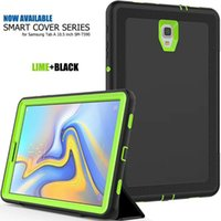 Custodia Auto-Sleep Hybrid Smart Dual Protection per Samsung Galaxy Tab. A 10.5 T590 10.1 T580 Cover antiurto antiurto