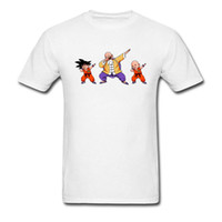 Camiseta de hombre Dragon Ball Z T Dabbing Goku Super camiseta Hero Anime Tops Camisetas de algodón Spirited Away Ropa blanca Divertido Roshi