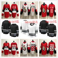 036ec66b1 New Arrival. Custom Ottawa Senators Hockey Jersey White Red 83 Christian  Jaros 58 Max Lajoie 31 Anders Nilsson 56 Magnus ...