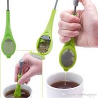صديقة للبيئة السلامة PP مادة الشاي المساعد على التحلل الصف الغذاء غير القابل للتصرف الشاي المساعد على التحلل المعمرة وغير سامة تصفية الشاي المصافي Infusers BH0072