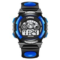 COOBOS Sport led digital watch Man women electronic Multifun...