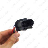 Caso base macho de plástico al por mayor H13 Auto en halógena automático de faros LED Conector soporte de alambre # 5456