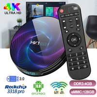 HK1 MAX+ Android TV Box RK3368PRO 4GB Ram 64GB 128GB ROM Set...