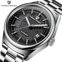 relojes hombre 2019NEW PAGANI CONCEPTION Marque de luxe pour hommes montre mécanique en acier inoxydable montre militaire imperméable hommes Horloges