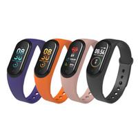 Einzelstück M4 Smart Band 4 Fitness Tracker Uhr Sport Armband Herzfrequenz Blutdruck Smartband Monitor Gesundheit Armband PK mi Band 4