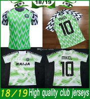 New Arrival. Thailand Quality 2018 Nigeria Home Soccer JERSEY Nigeria IKEL 10  Musa  7 ... b516d23a2