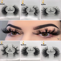 New Mink Lashes 3D Vison Cils 100% sans Cruauté Lashes main réutilisables Faux cils naturels populaires eEye Lashes série de maquillage E