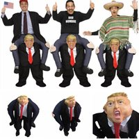 Donald Trump Pants Party Dress Up Ride On Me Mascot Costumes...