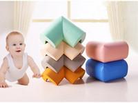 Protections de coin en mousse pour la sécurité des enfants Table coin coussin de protection anti-collision Bord bord d'angle pour enfants Mobilier couleurs de bonbons pare-chocs
