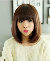 WIG LL Free Shipping> > > New Cosplay wig Medium Stra...
