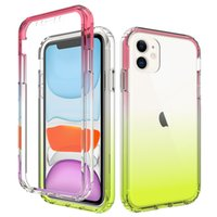 Gradient Color 2in1 Hybrid tpu Case for Apple Iphone 11 Pro ...