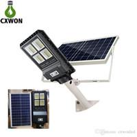 Nuova lampada Solar Street IP67 30W 60W 90 W Long Range Sensore PIR con telecomando integrato Solar Street Light