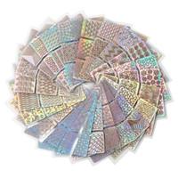1 Set hueco Nail Art Sello placas de esmalte de uñas Imprimir hoja de la flor del colector del sueño del copo de nieve de Navidad Stamper Scrapper Esponja