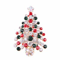دبابيس عيد الميلاد للعام الجديد لطيفة بروش شتاء بروش دبابيس الفاخرة مجوهرات الراين دبابيس