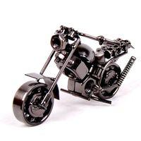 """10Styles 14см (5,5"""" ) модель мотоцикла Ретро Мотор Фигурка металла украшения ручной работы Железный Мотоциклетные Prop Vintage Home Decor Kid Игрушка"""