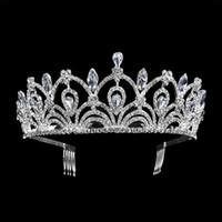 New Vintage Gold / silber Tiara Leaf Stirnband Haarschmuck Hochzeit Haarschmuck Prinzessin Crown Handmade Braut Kopfschmuck T-715 C19041101