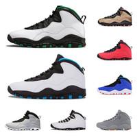 10 10s mens basket skor öken camo seattle cement klass av 2006 cool grå jag är tillbaka män atletisk sport sneakers storlek 8-13