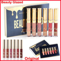 NEU Gold Birthday Edition Lipgloss 6er Set Lippenstifte Matt Flüssiger Lippenstift Makeup Lipgloss Kit Beauty Glazed Lipgloss Cosmetics