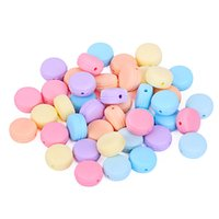 Macaron Silicone Teething Beads 17. 5mm Food Grade Silicone T...