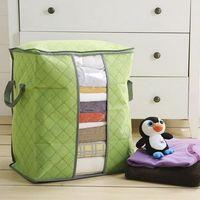لحاف الملابس تخزين أكياس سميكة غير المنسوجة المحمولة خزانة منظم حفظ الفضاء طي مكافحة الغبار الحقيبة صندوق للسادة غطاء B EEA1410