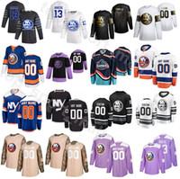 2020 All Star New York Islanders Jersey Hockey 13 Mathew Barzal 27 Anders Lee 29 Brock Nelson 12 Josh Bailey 2 Nick Leddy