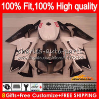 Injection For Aprilia RS4 RS 125 R white glossy RSV125 RS125R RS-125 69NO.84 RS125 06 07 08 09 10 11 2006 2007 2008 2009 2010 2011 Fairings
