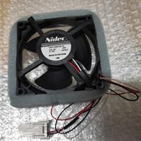 Livraison gratuite ventilateur réfrigéré New Original pour Nidec 9cm U92C12MS1B3-52 12V 0.16A refroidisseur imperméable à l'eau