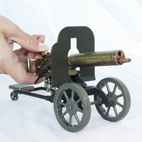 Contrassegnare la mitragliatrice pesante modello più leggero di fiamma ricaricabile butano smussato accendino militare collezione di hobby militare gli uomini devono avere un regalo