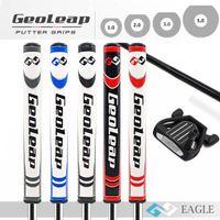 Geoleap de golf putter agarra PU de alta calidad 5colors de golf agarra 1.0 cuatro campos de tamaño agarra el envío libre