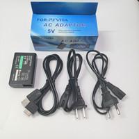 Cargador de pared a domicilio de UE EE. UU. Para SONY PS VITA PSV 1000 AC Adaptador de alimentación Cargador de suministro + Cable de datos USB
