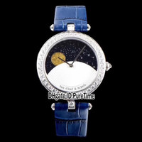 Best Edition VCARN25800 Steel Case Diamond Bezel Moon Phase ...