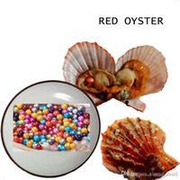 Akoya Pearl Oyster 2020 Round 6- 8mm 25 mix Colors seawater n...