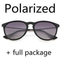الاستقطاب أعلى جودة 4171 مصمم النظارات الشمسية للرجل امرأة Erike نظارات ماركة نظارات شمسية مات ليوبارد التدرج UV400 العدسات صندوق وحالة