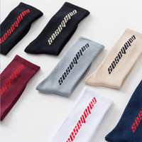 New men women socks Calabasas socks fear of god letter long ...