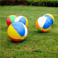 نفخ شاطئ بركة لعب كرة الماء صيف الرياضة تلعب لعبة بالون في الهواء الطلق شاطئ الماء الكرة الأطفال معدات سباحة 12 بوصة EZYQ408