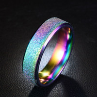 Hot Sale Ring Simple Stainless Steel Ring Female Fashion Scr...