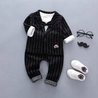 good quality 2019 new spring autumn children clothes set kid...