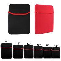 """Защитный неопреновый мягкий чехол для ноутбука Сумка для 10 """"12"""" 13 """"14"""" 15 """"17"""" ноутбуков 7-10,1-дюймовый планшет Samsung iPad"""