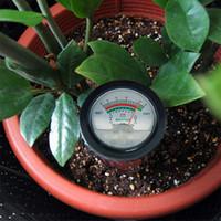 FreeshippingSoil Ph Feuchtigkeitsmesser Tester Hydroponics Analyzer Lange Wasserqualität Pflanzen Feuchtigkeit Bodendetektor 3-8 Ph 1-8 Feuchtigkeit