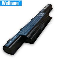 Batería Weihang de célula de Corea para Acer Aspire V3-471G V3-551G V3-571G E1-471 E1-531 E1-571 V3-771G E1 E1-421 E1-431 Serie