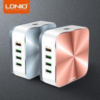 LDNIO A8101 빠른 충전기는 5V 10A 충전 8 포트 USB 충전기 아이폰 아이 패드 삼성 다중를 qc3.0