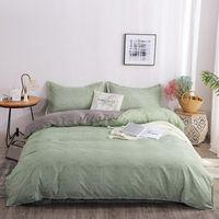 4 pezzi Biancheria da letto di lusso Set di biancheria da letto del modello geometrico cotone / in poliestere copripiumino di piumino lenzuolo lenzuolo