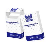 scatola di imballaggio Logo preroll Preroll stampa personalizzata su misura di imballaggio pacchetto di sigarette pacchetto di scatole OEM PreRolls Cigar