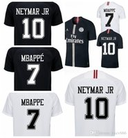 psg jersey Champions League 2018 2019 Black white maillot 3r...